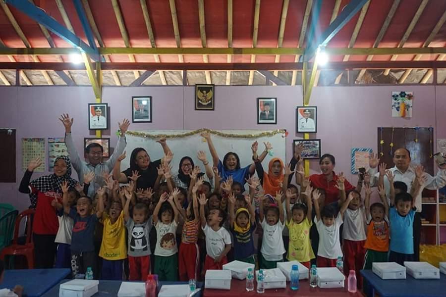 Managemen Swiss-Belhotel Airport, Jakarta Gelar Kegiatan Bersama Anak Jalanan