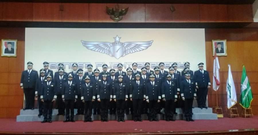 Foto bersama Genesa Flight Academy Graduation Day