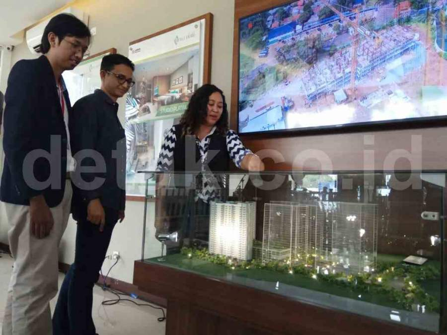 Apartemen Emerald Bintaro Dibangun Tujuh Tower