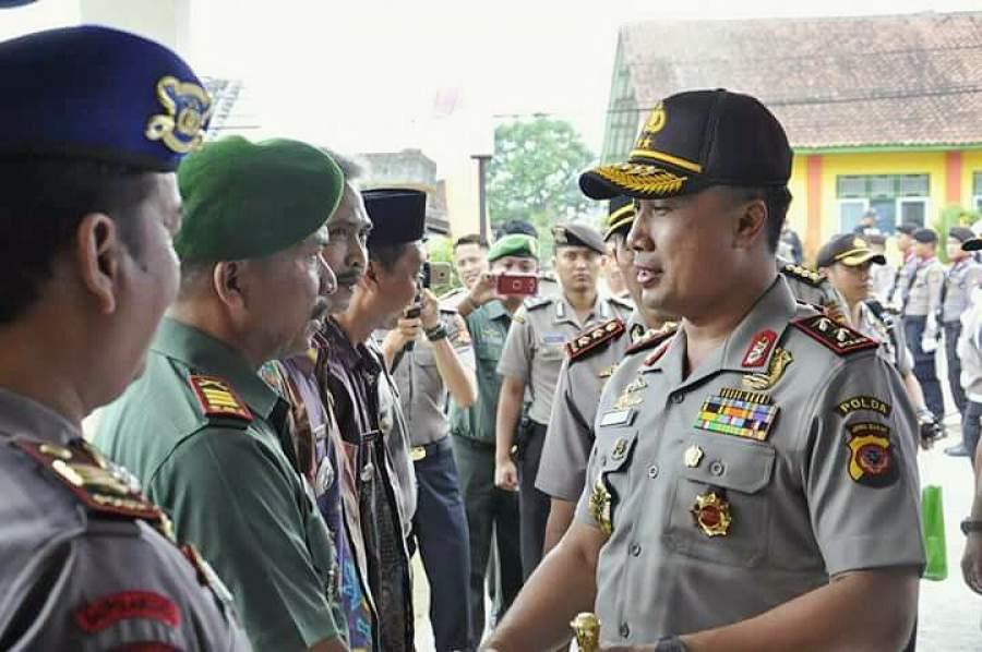 Kapolda Jabar Inspeksi Polsek Perbatasan Jabar-Jateng Wilayah Selatan
