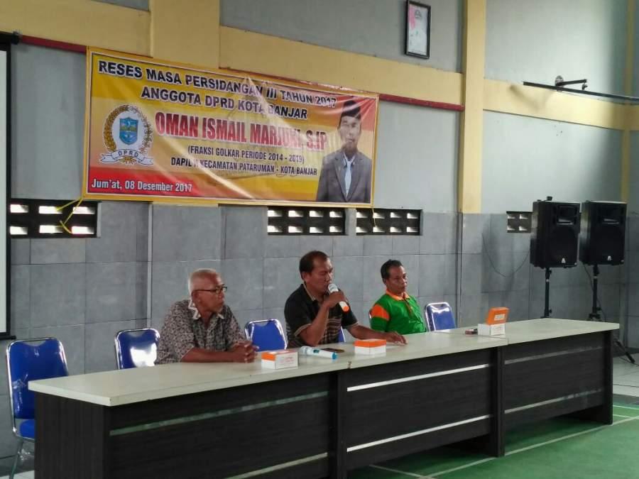 DPRD Kota Banjar Masuk Masa Reses III Tahun 2017