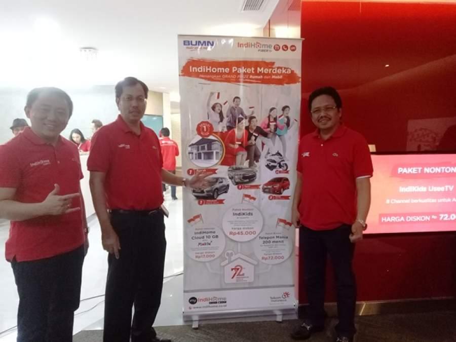 Telkom Tingkatkan Digital Pelanggan dengan Konsep One and Done