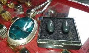 Batu Cincin Bacan VS Black Opal