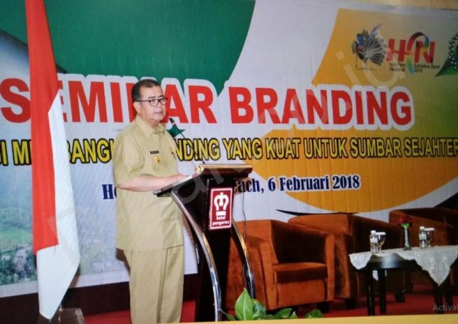 Wagub Nasrul Abit : Branding  Senjata Untuk Promosi Wisata