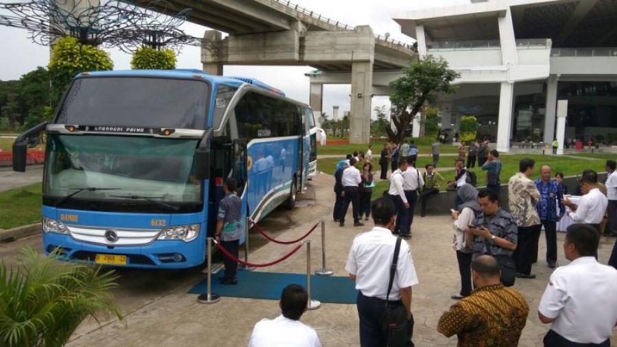 Lima Perusahaan Bus Siap Layani Penumpang Bandara Soetta