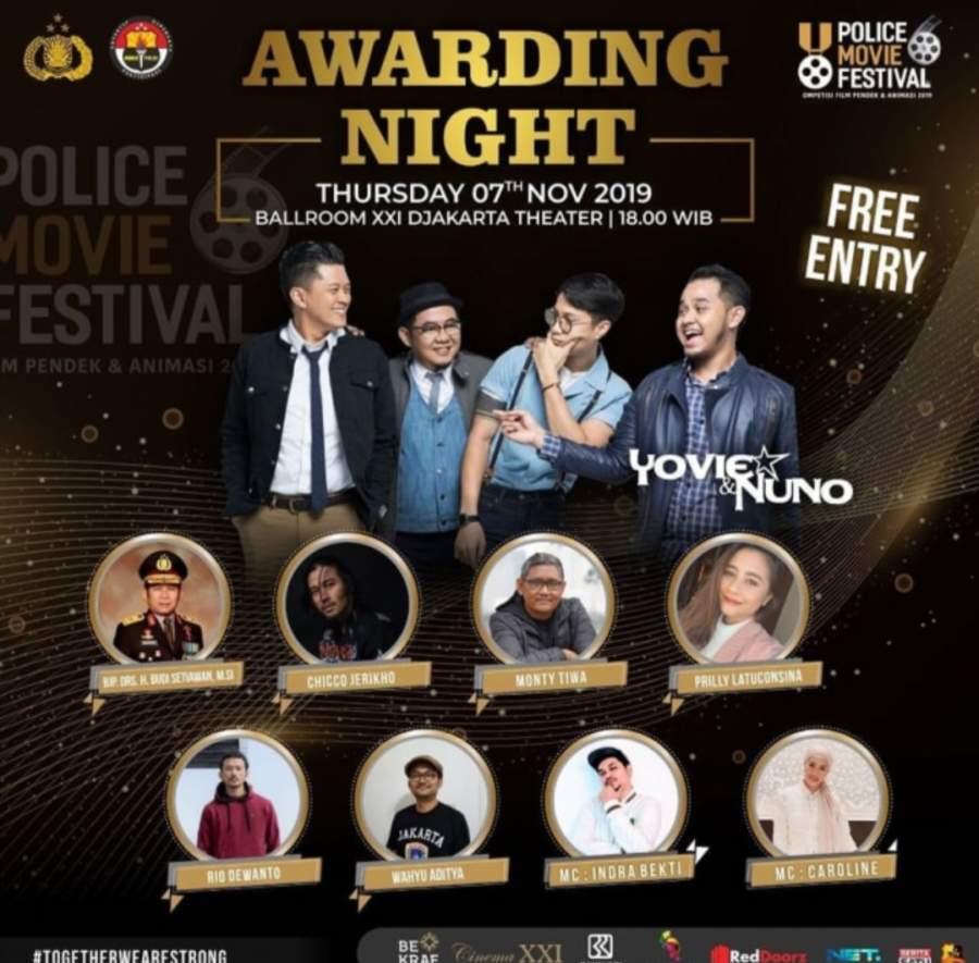 Kadiv Humas Polri Sebut Police Movie Festival Sebagai Ajang Pemolisian