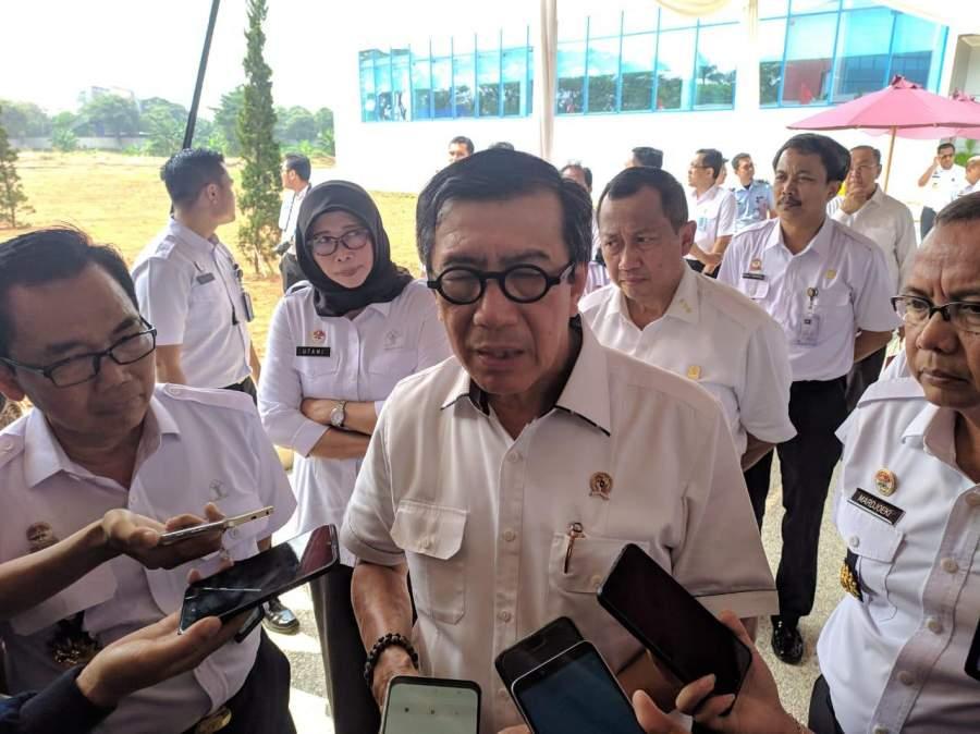 Resmikan Poltekim, Menhunkam Tuding Wali Kota Tangerang Cari Gara-gara