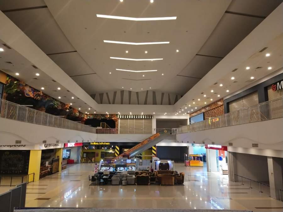 Tersengat Covid-19, Mall dan Plaza di Baturaja Sepi, Bahkan Tutup Sementara