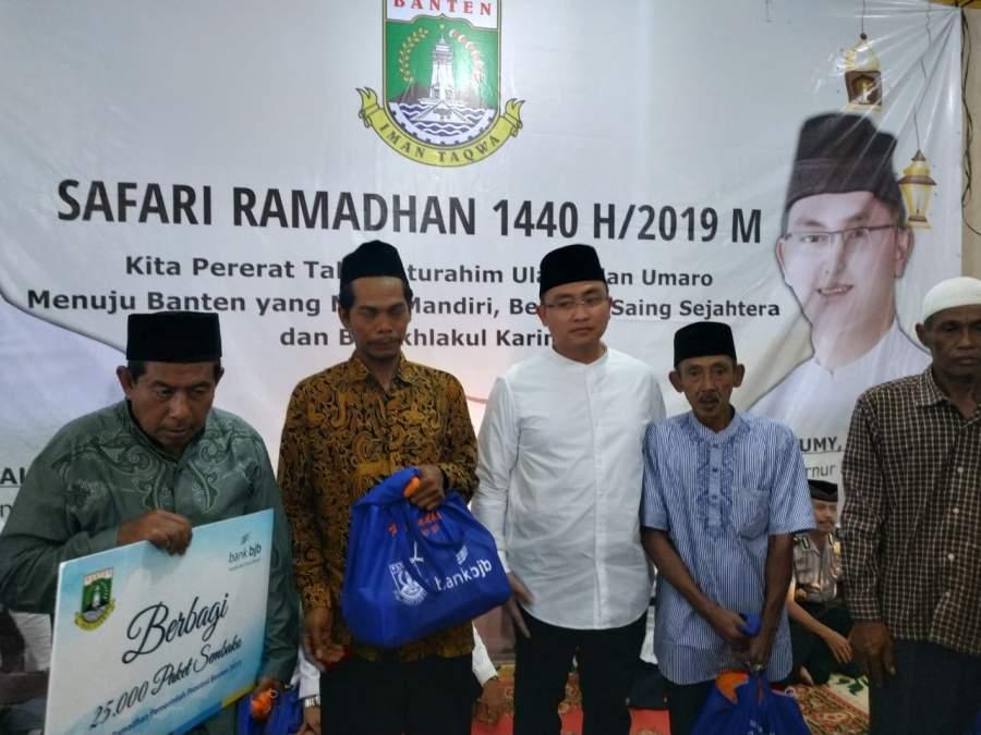 Safari Ramadhan 1440 H/2019 M, Wagub : mendekatkan diri dengan masyarakat