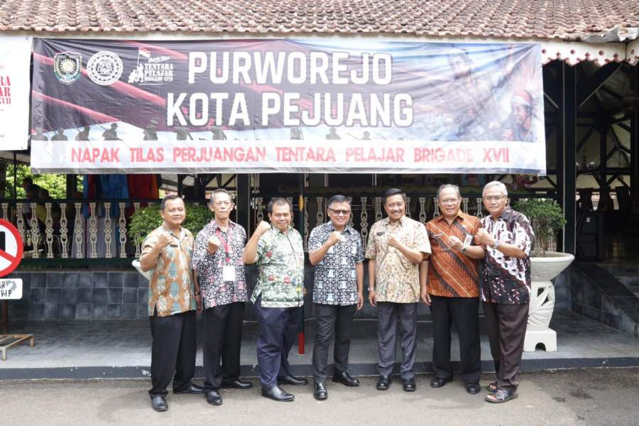 Sambut Hari Pahlawan, Purworejo Napak Tilas Pejuang Tentara Pelajar