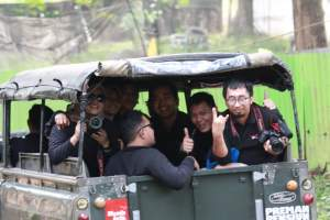 Outbound Off-road ala KemenPANRB