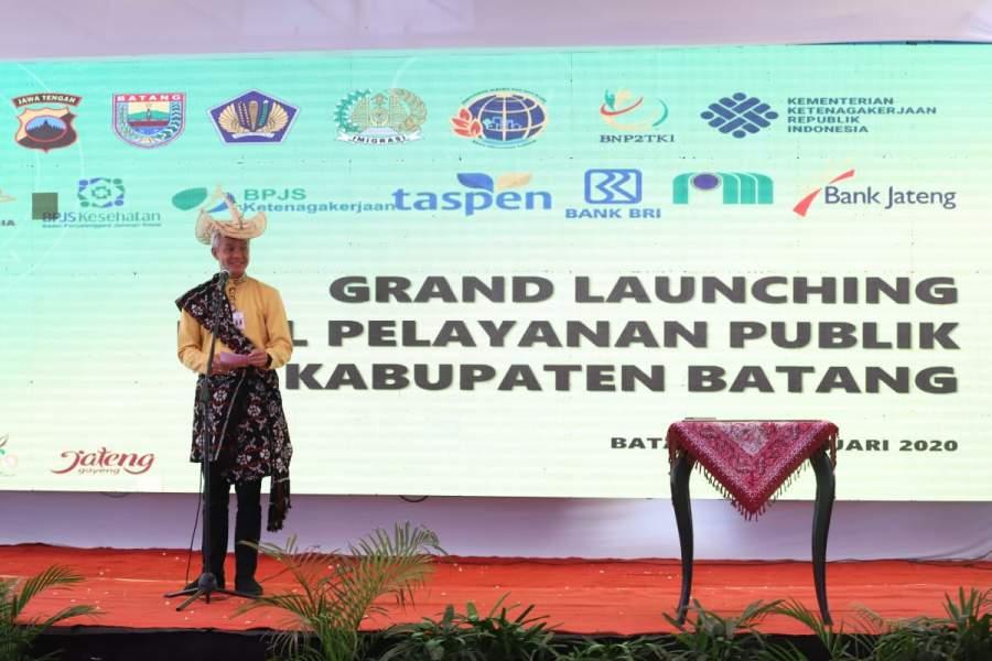 Dalam Lima Tahun, Kabupaten dan Kota di Jateng Harus Miliki Mal Pelayanan Publik
