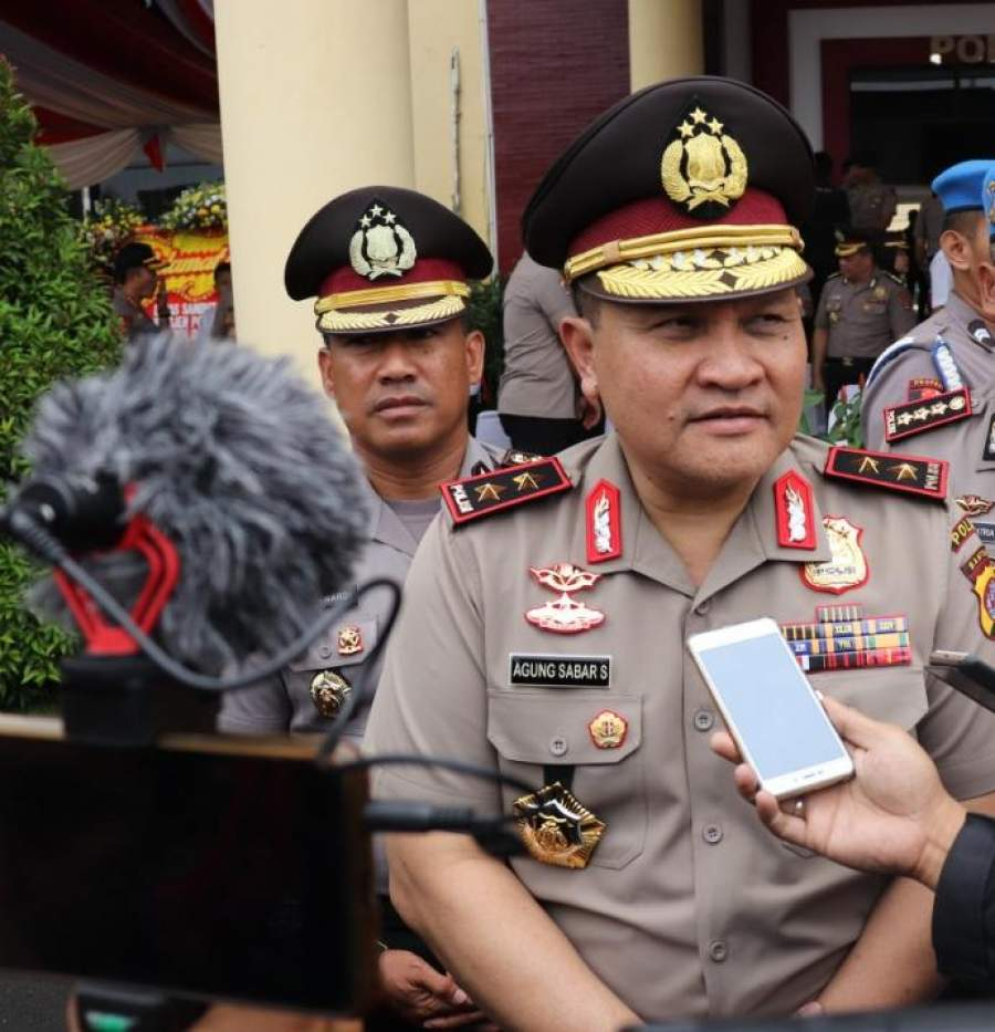 Kapolda Banten, Kembali Serukan Sosial Distancing, Agar Warga Patuh Terhadap Kebijakan Pemerintah