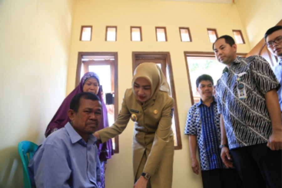 Sewindu Tangsel, 511 Rumah Rumah Warga Tak Layak Huni Di Bedah