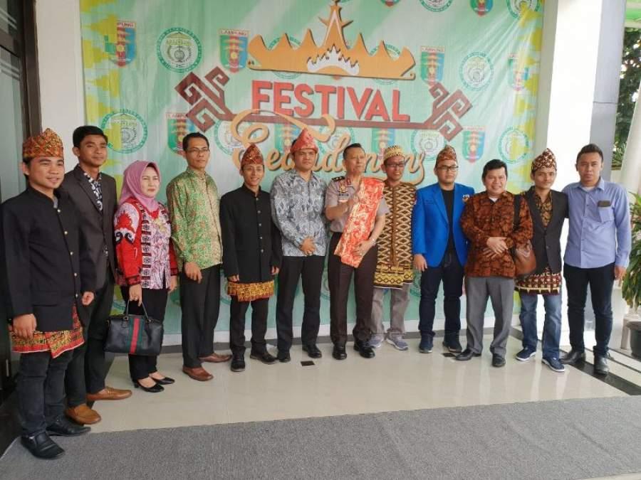 Memperingati HUT ke 6, HML Tangsel Melestarikan Budaya Lampung