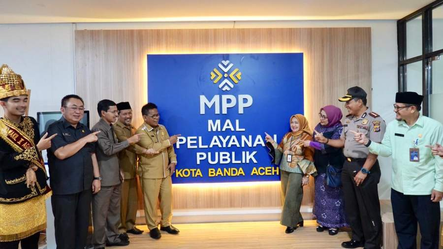 Wujudkan Collaborative Governance, Banda Aceh Dirikan Mal Pelayanan Publik
