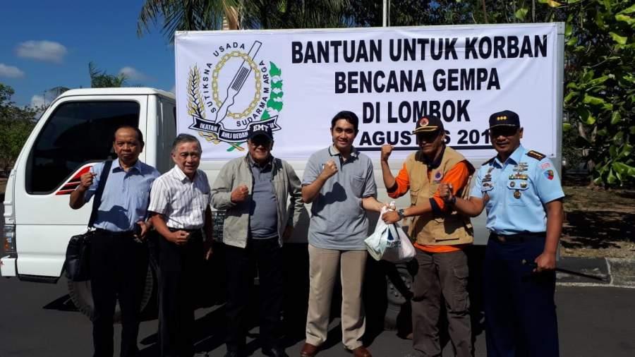 PABI Kirim Bantuan Tim Medis dan Logistik untuk Korban Gempa Lombok