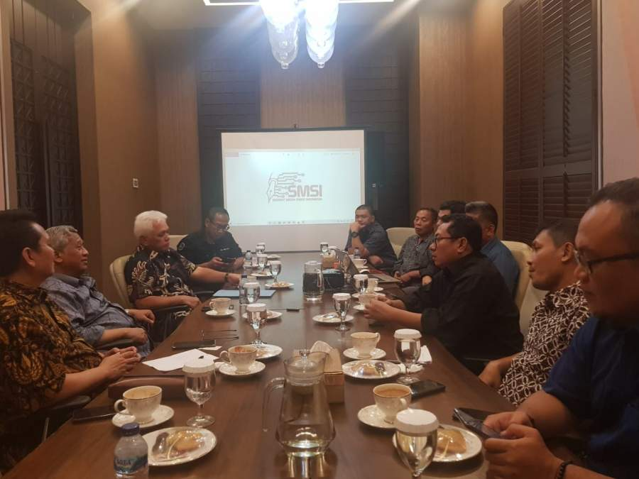 Dialog SMSI Pusat Bersama Mohammad Nuh dan Hatta Rajasa