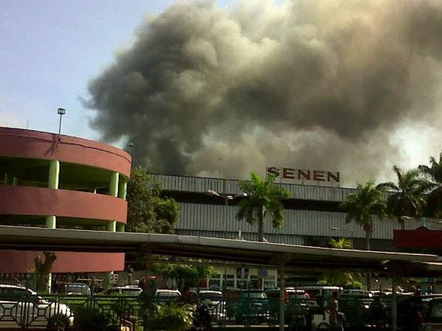 Pasar Senen Hangus Terbakar, Kerugian Capai Ratusan Miliar