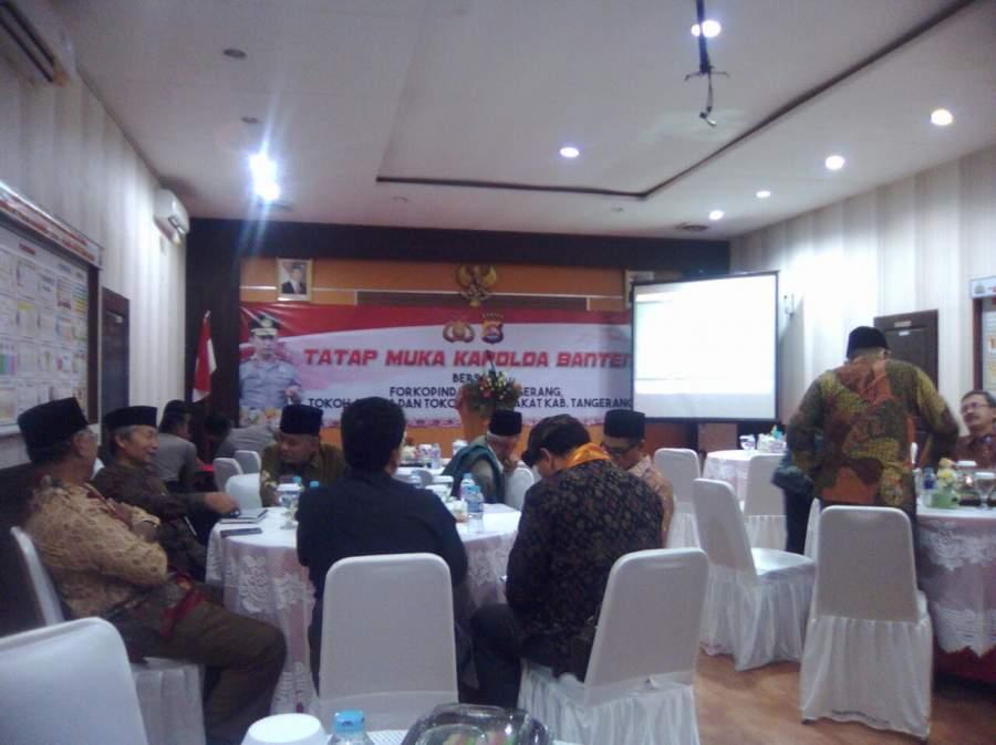 Kapolda Banten Minta Warga Tak Terpancing Isu Sara