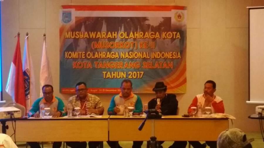 Rita Juwita Kembali Pimpin KONI Tangsel Periode 2017-2021