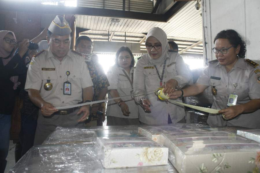 Badan Karantina Pertanian mengekspor sarang walet ke Tiongkok.