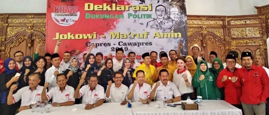 KIBAR Banten Deklarasi Dukung Jokowi-Ma'ruf Amin