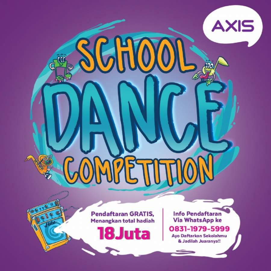 Ayo... Ikutan AXIS Dance Competition